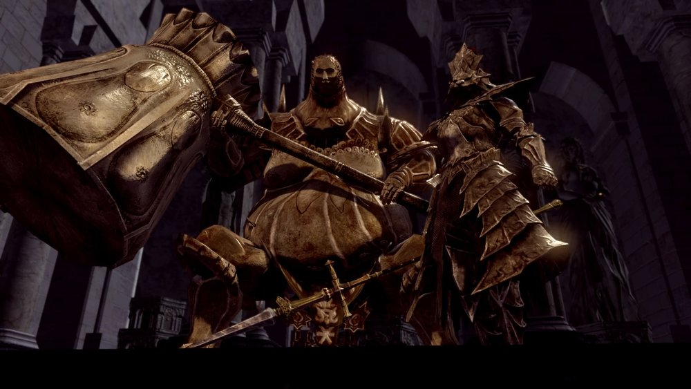 Seconds after you realise you have to fight both, Ornstein begins a 50 metre charge at you. Yikes.