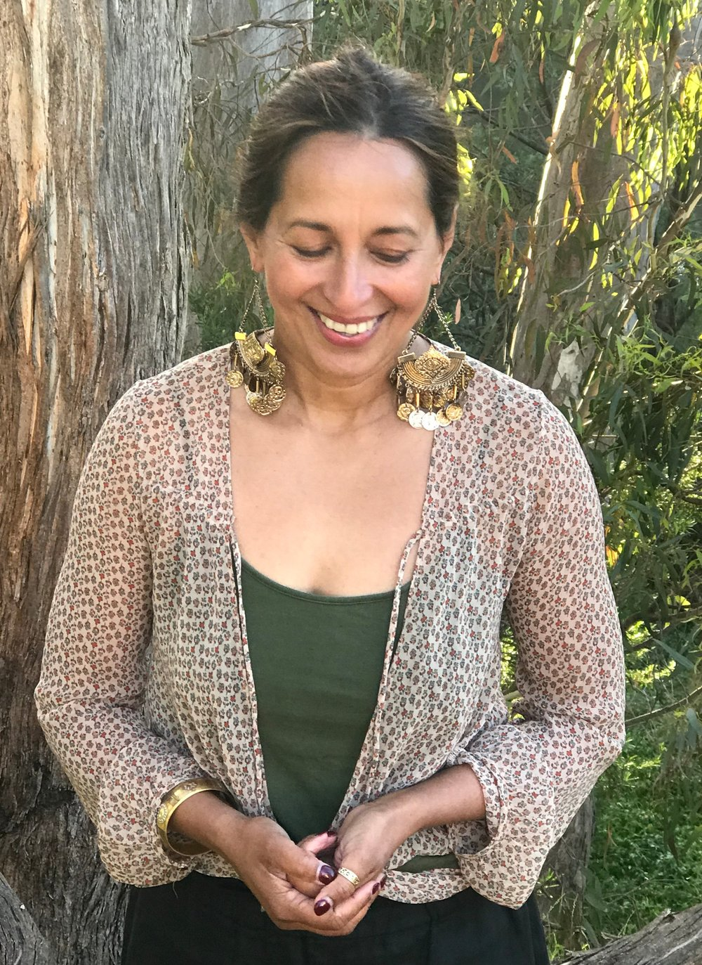 AVRIL BASTIANSZ - Teacher & Coach of Spiritual and Holistic Wellbeing through Yoga, Meditation, Nutrition, Ayurveda and experiential journeys, supporting women on their path of Self-discovery.