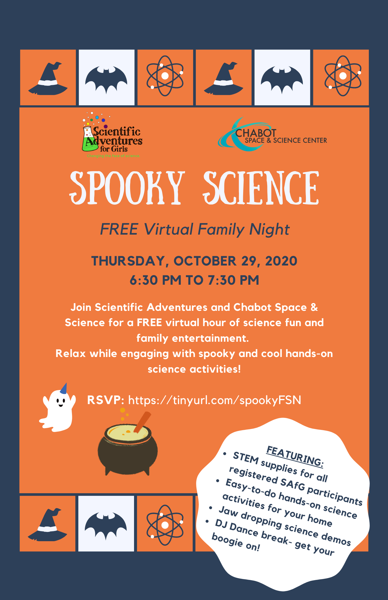 October 2020 Fun Fall Science Events Scientific Adventures For Girls