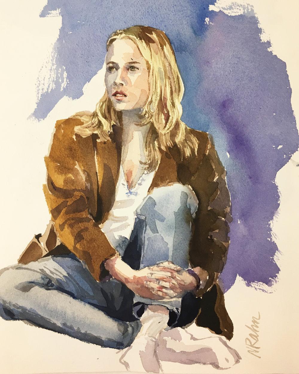 Watercolor - SKETCHES By Norma Erler Rahn
