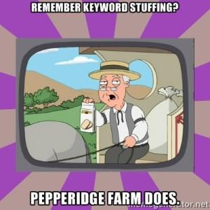 Don't keyword stuff!
