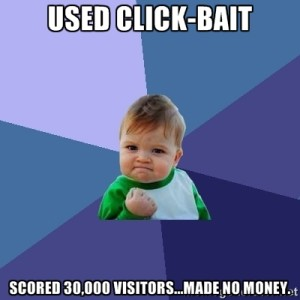 say no to click bait