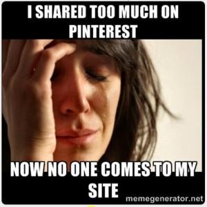 pinterest sharing