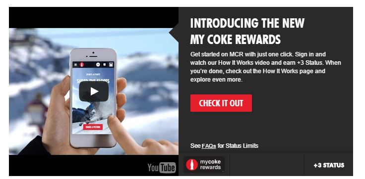 Copywriting from the Coke website.