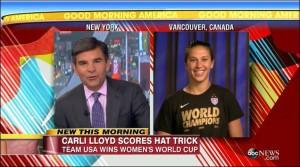 Carli Lloyd USA Women's World Cup