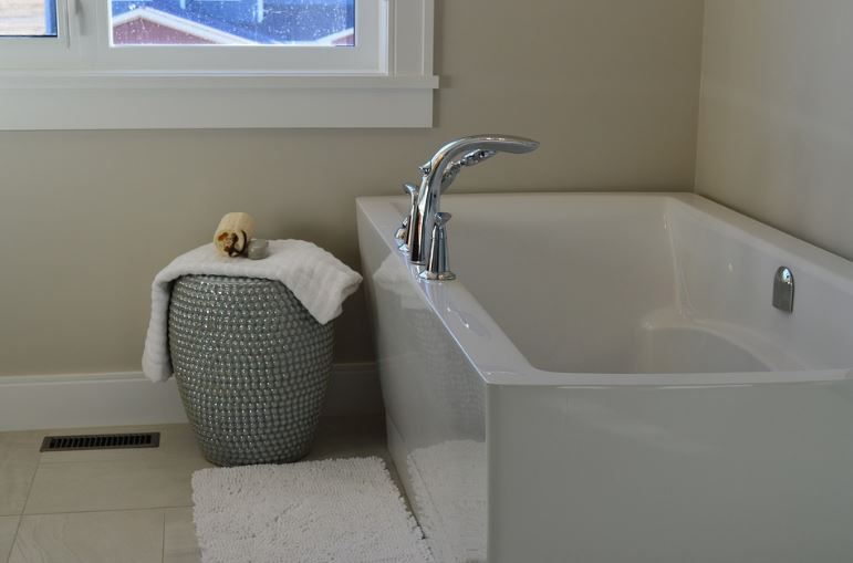 make your bathroom relaxing