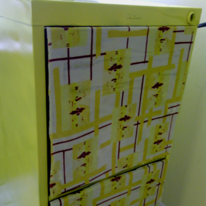 how to refinish a filing cabinet