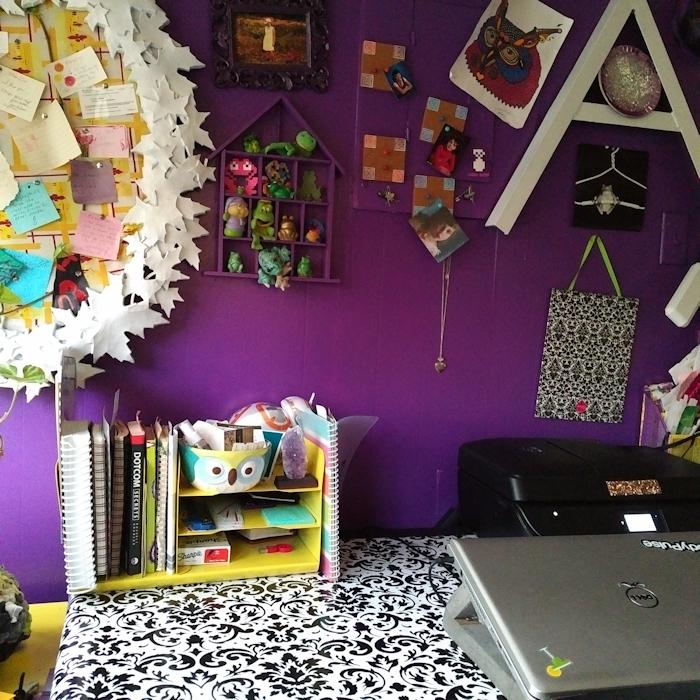 freelance writer office