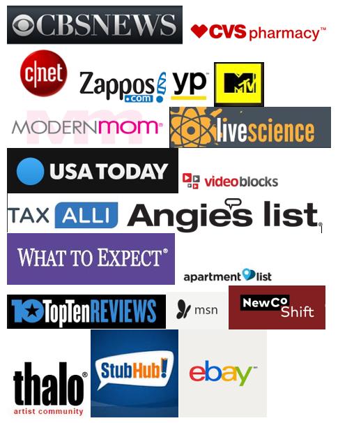 Client list of alina bradford