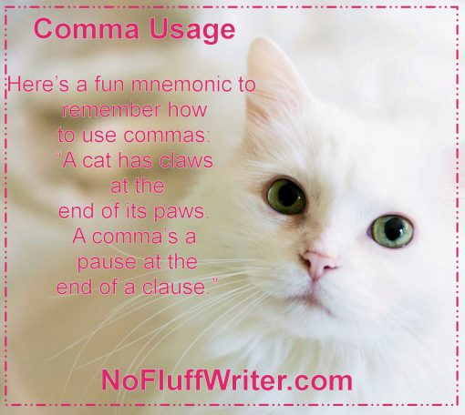 how to use commas