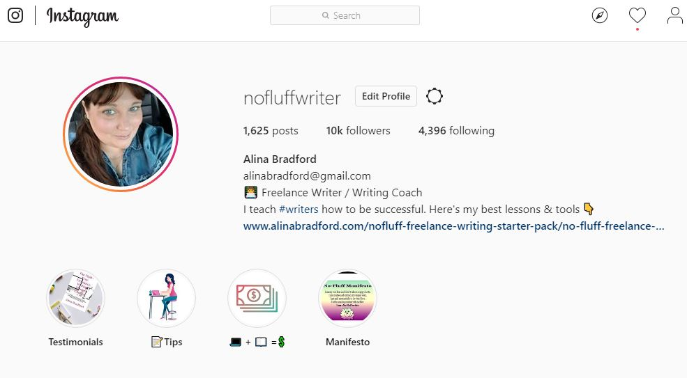 I Made It To 10 000 Followers On Instagram The No Fluff Writer