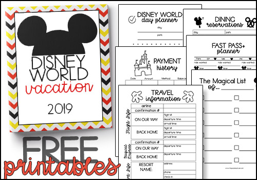 graphic regarding Disney World Printable Tickets named Disney World-wide Creating Printables no cost The Packed Suitcase