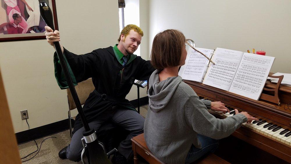 """Hogwarts"" School of Music"