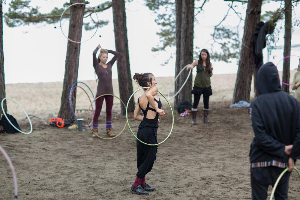 hula hoop class skype lesson Buket rın
