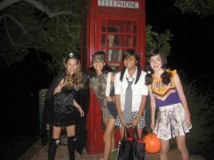 Halloween in Glenoaks Canyon 2008