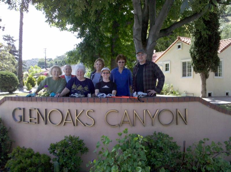 2010 Glenoaks Clean Up 4