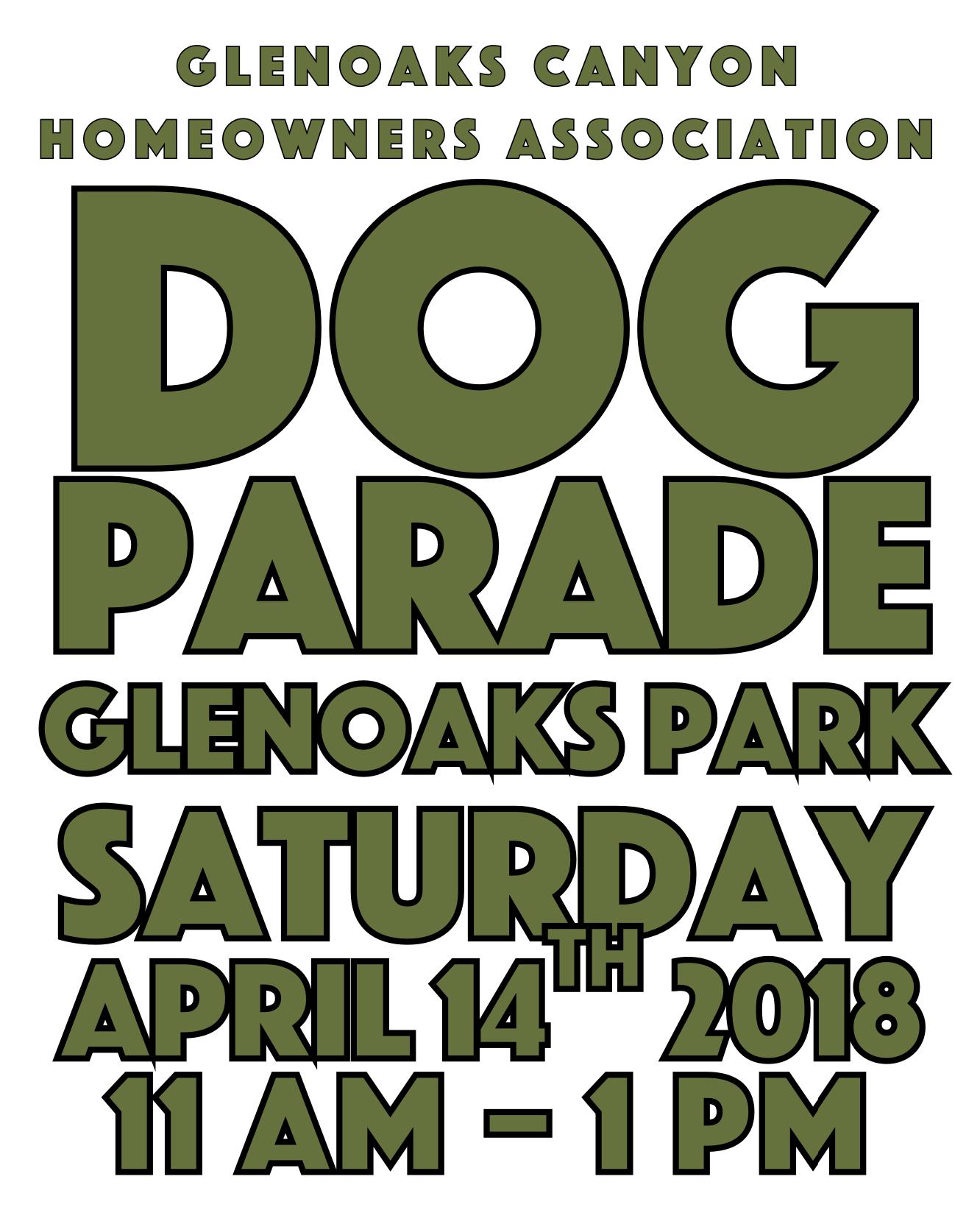 dog parade 2018