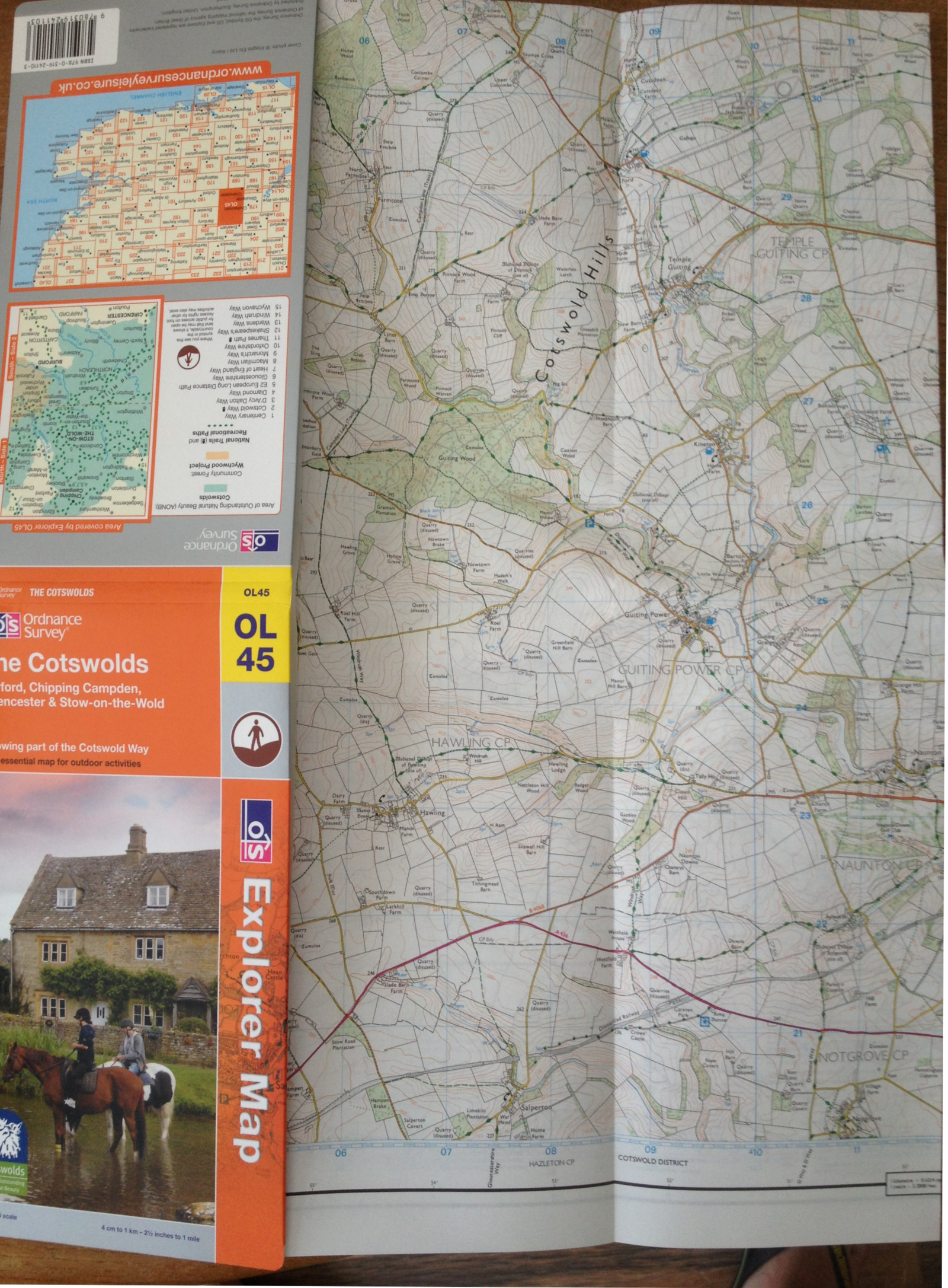Cotswold Map
