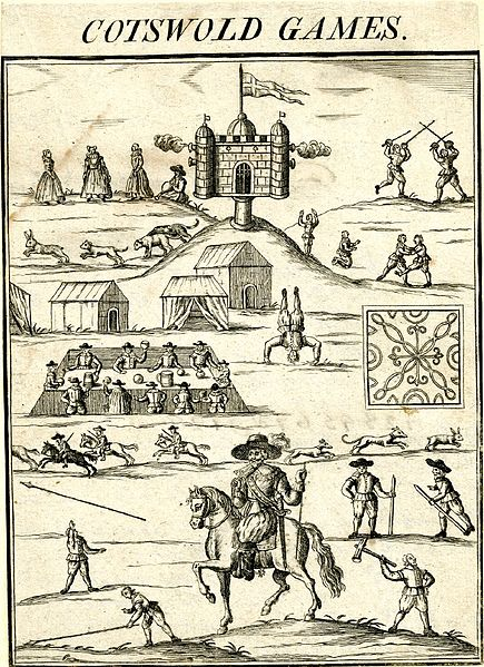 Cotswold Games Originally published in 1636