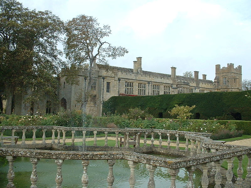 Sudeley Castle View From Garden