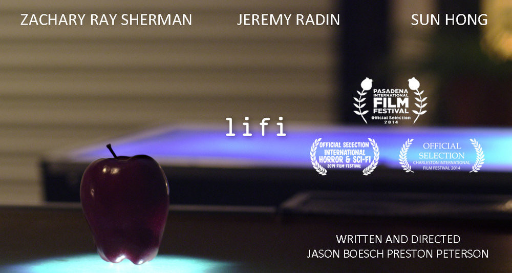 LiFi - In the midst of the greatest scientific discovery of our generation, three young scientists face an ethical dilemma when their latest experiment goes a little too 'right.'