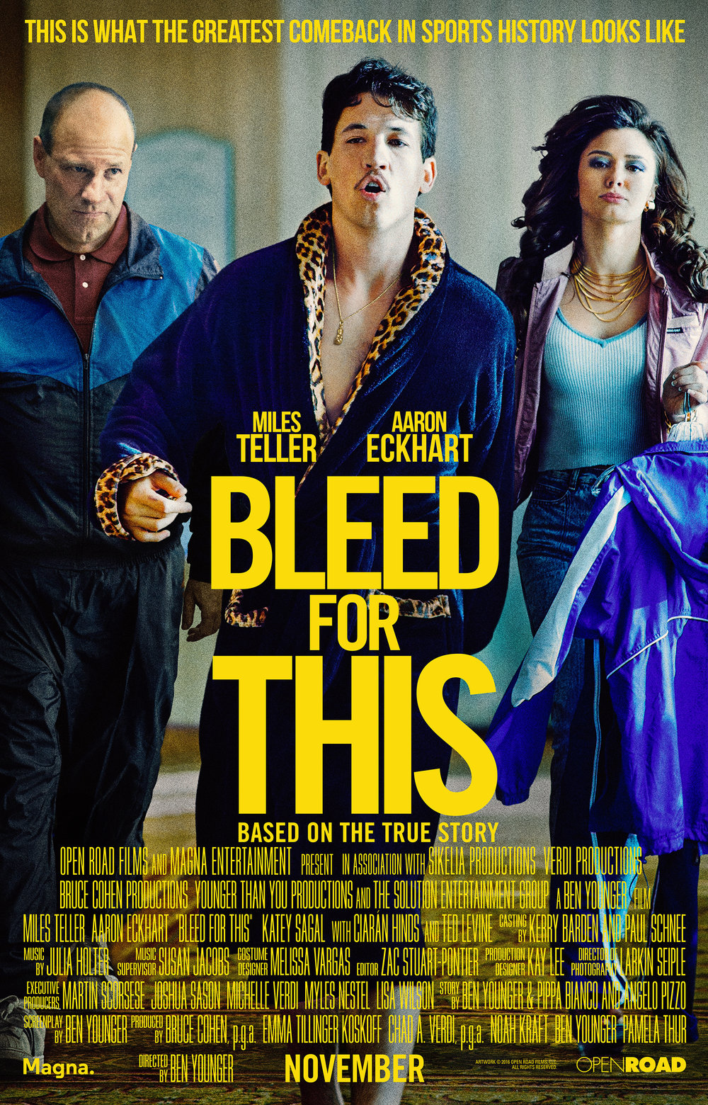Bleed For This - Boxing movie