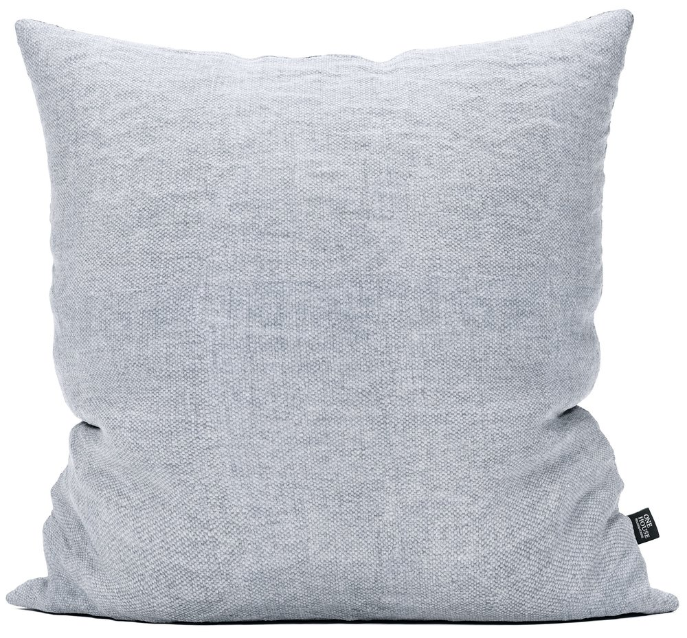 Hudson light grey - This minimalist pillow offers a timeless, curated feel to your home. The clean, classic fabric can stand alone or be versatile enough to mix and match with nearly any color scheme.