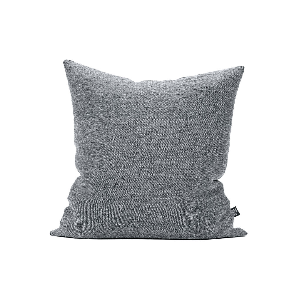 Hudson dark grey - This minimalist pillow offers a timeless, curated feel to your home. The clean, classic fabric can stand alone or be versatile enough to mix and match with nearly any color scheme.