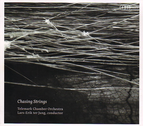 Chasing Strings (2018) - Nils Henrik Asheim: ChaseJan Erik Mikalsen: Lied for String EnsembleMagnar Åm: Studie over ein salmetone fra LusterJan Erik Mikalsen: MunchsonatenTelemark Chamber OrchestraLars-Erik ter Jung, conductorThe CD Chasing Strings is nominated for the 'Spellemann' Music Award 2019 in the category for contemporary music.SpotifyTidalApple Music