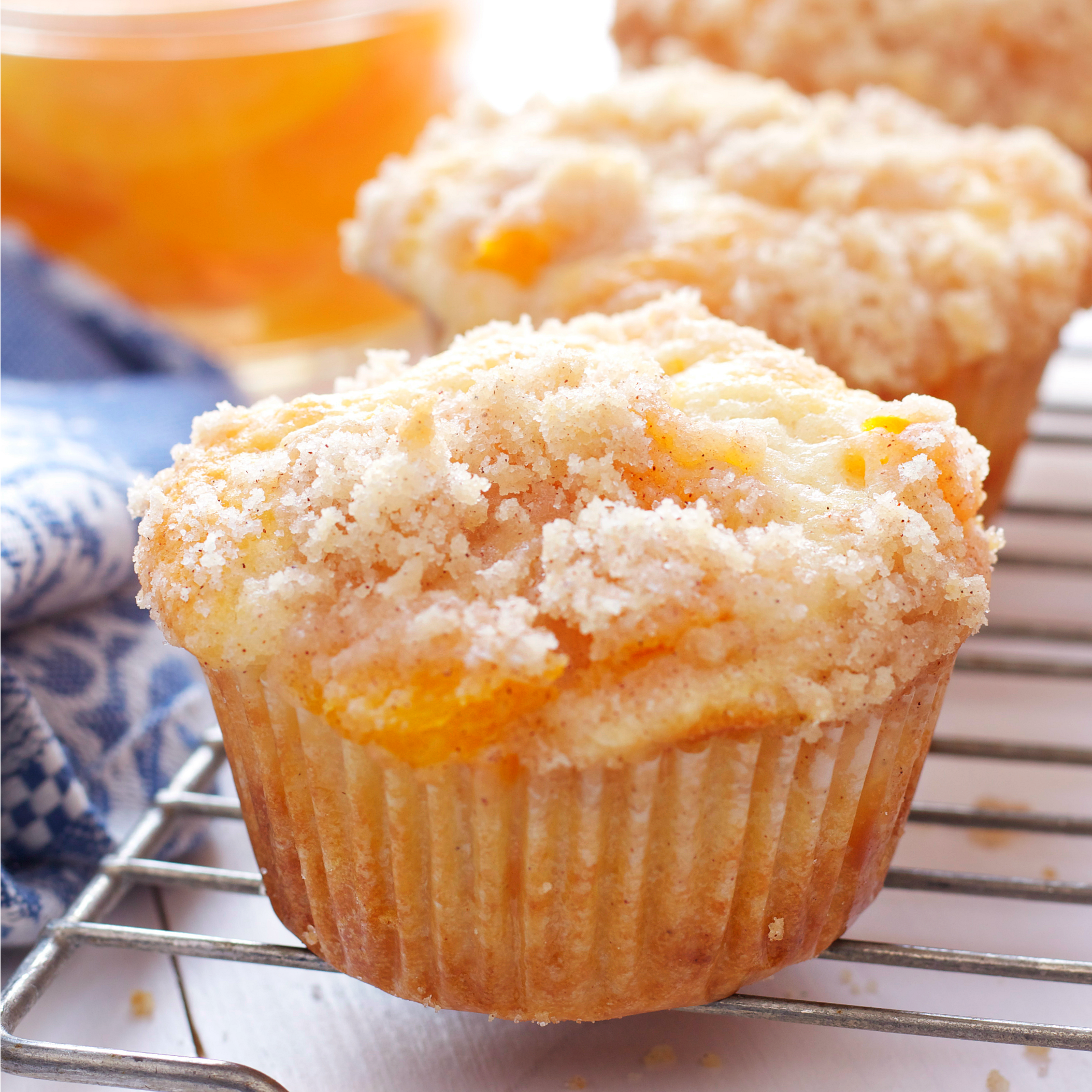 Peach Cobbler Muffins Key Realty Neo
