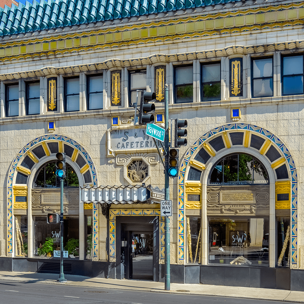 Asheville - City of Art Deco, Music and Art