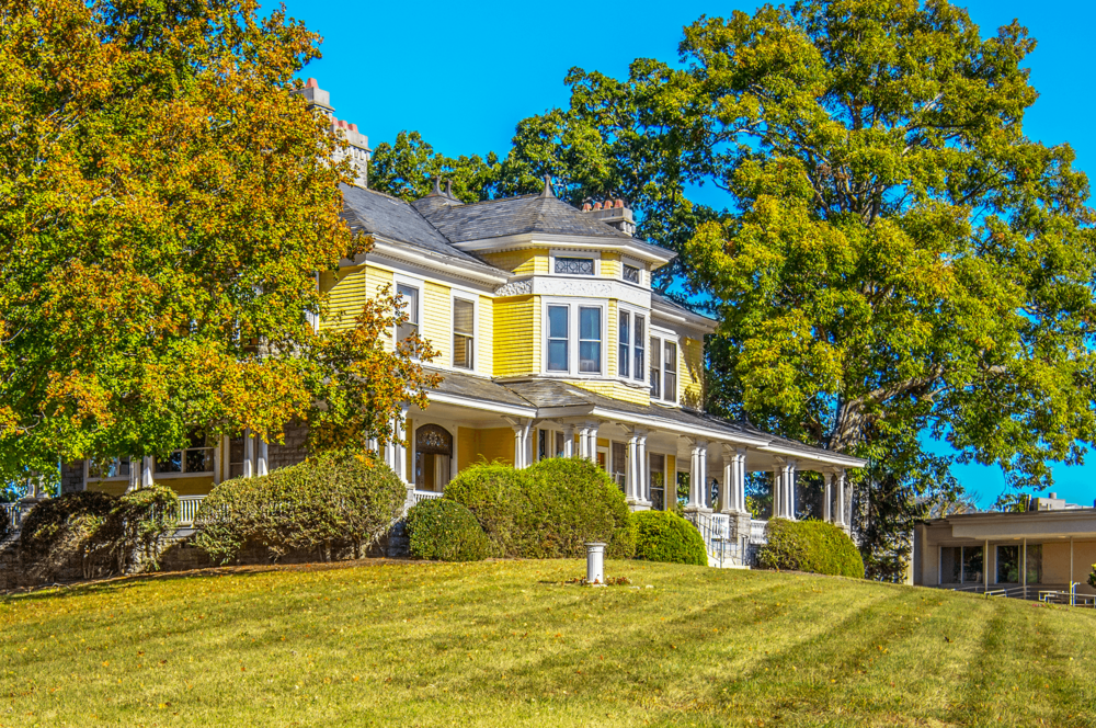 The house was completed in 1892 and deeded to Martha, James Edwin's wife, by her father as a wedding gift.