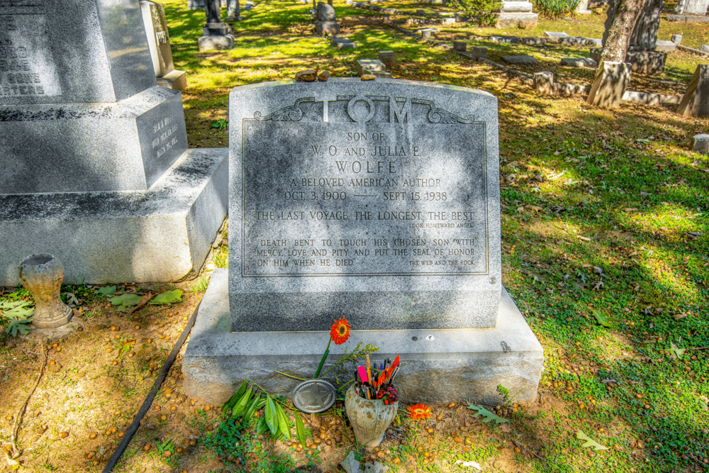 """Thomas Wolfe (1900-1938) was North Carolina's most famous writer. He is also considered one of the major American novelists of the early 20th century and """"one of the first masters of autobiographical fiction""""."""