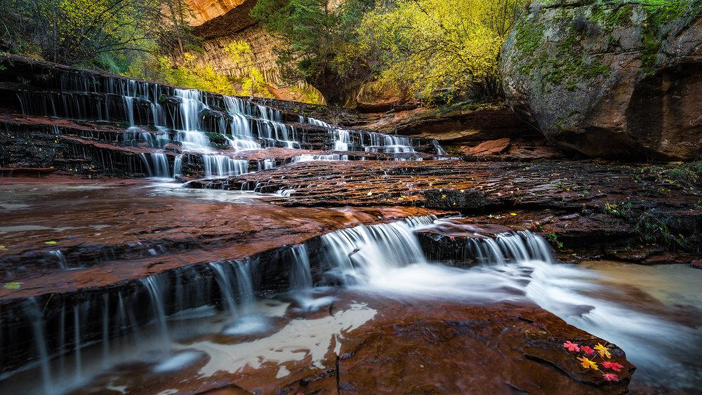 Archangel Falls - Zion National Park, UT