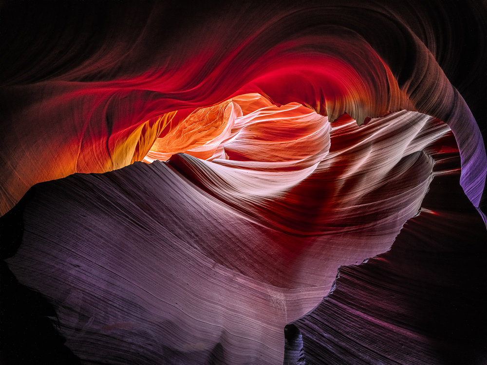 Lower Antelope Canyon - Near Page, AZ