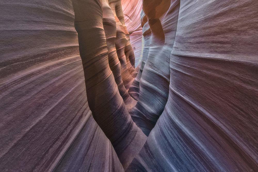 Zebra slot canyon - Near Escalante, UTImage by Mark Metternick @ www.markmetternich.com