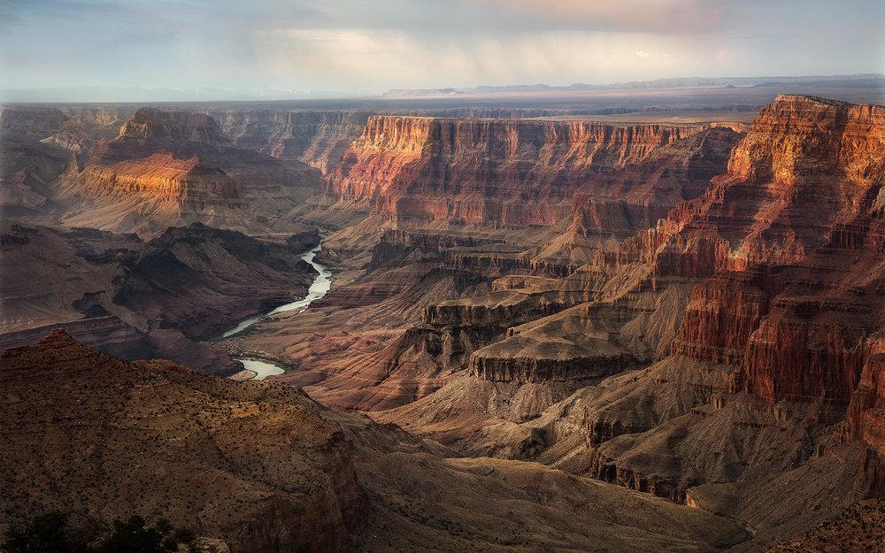 Desert View (Navajo Point) - South Rim Grand Canyon, AZ