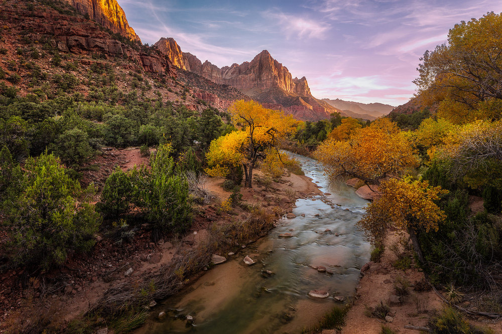 The watchman - Zion National Park, UT