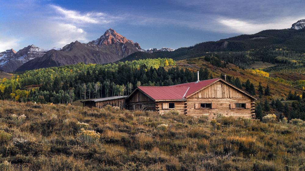 House on the range - Near Ridgway, CO
