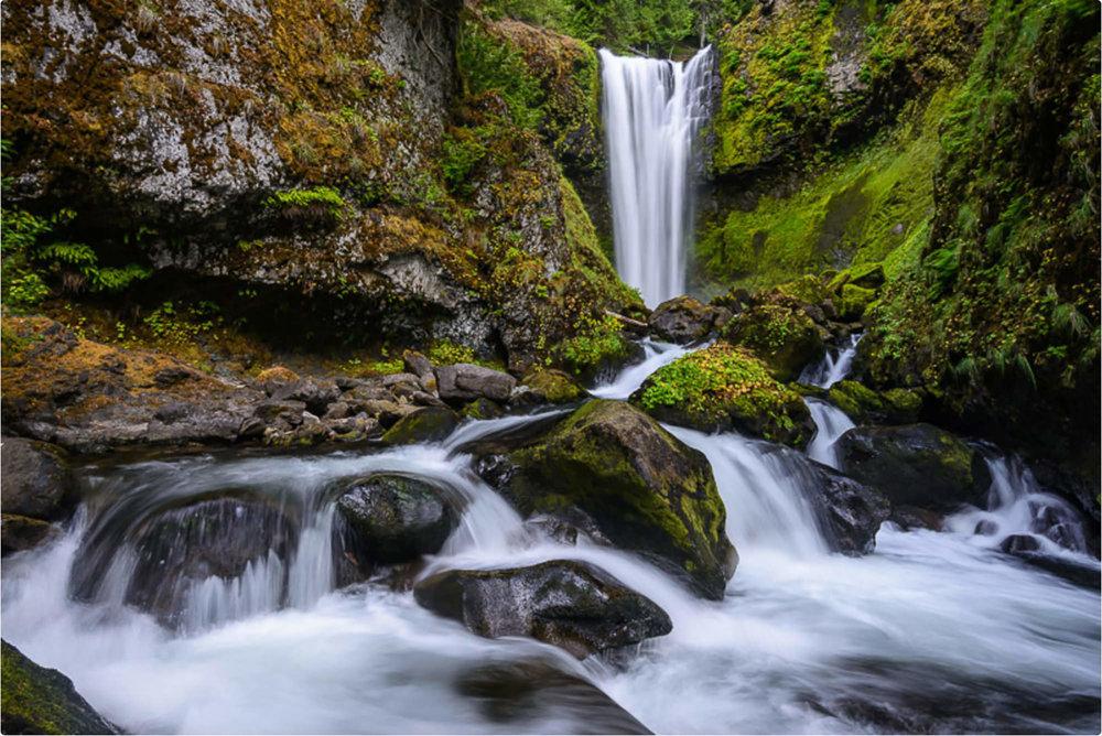 Falls Creek Falls - South Central Washington
