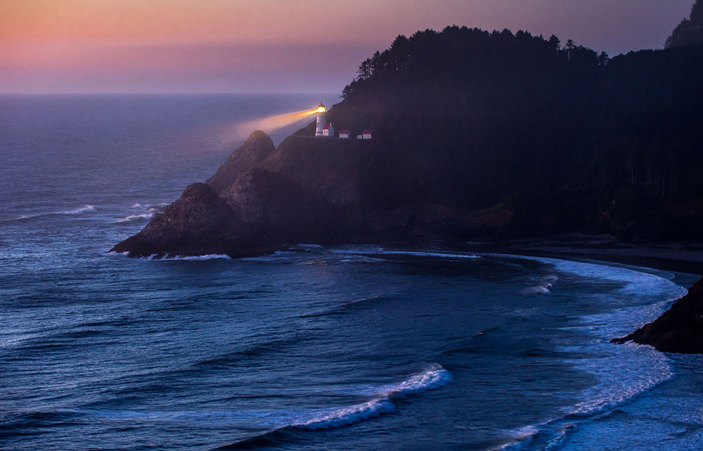 Heceta Head Lighthouse - Central Oregon CoastImage by Alex Morley @ www.alexmorleyphoto.com