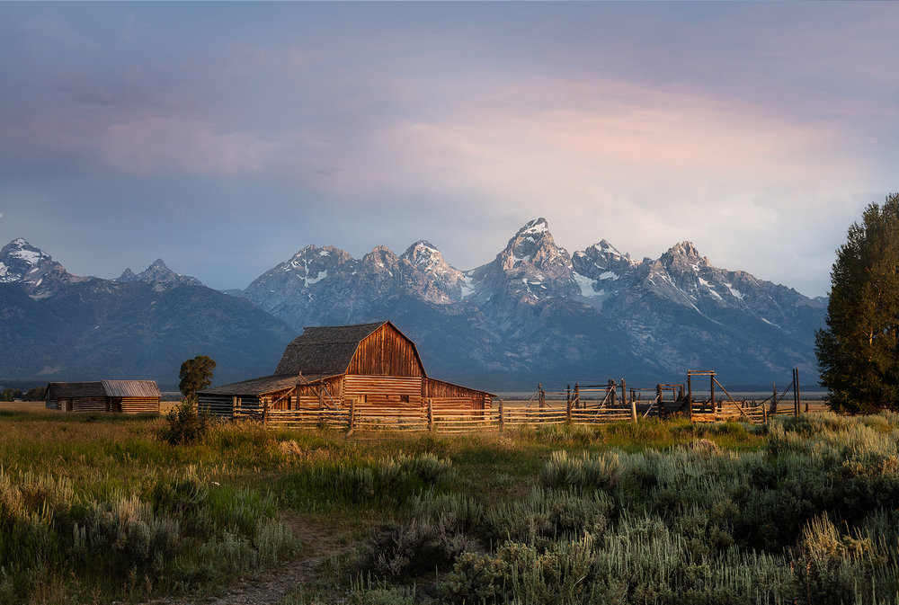 Mormon Barn (North) - Jackson Hole, WY