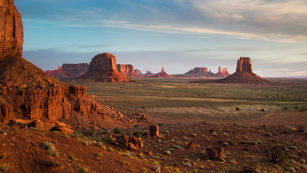 NORTH WINDOW OVERLOOK - Monument Valley, AZ