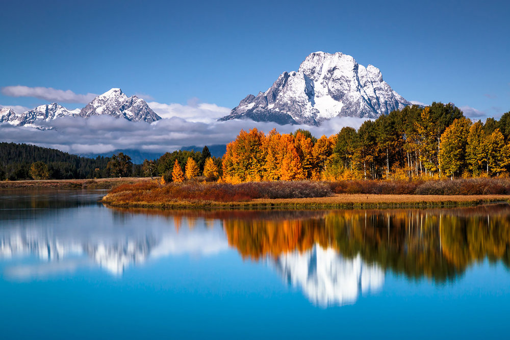 OXBOW BEND - Jackson Hole Area, WYImage by Don Metz @ www.donmetzphotography.com