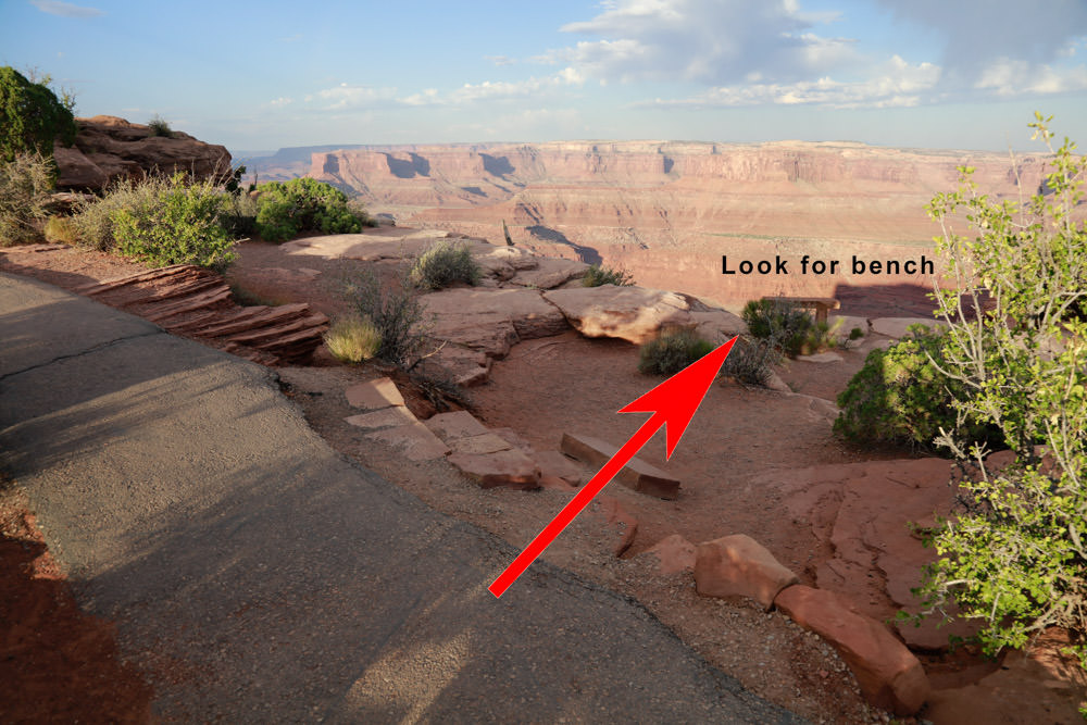 Look for bench