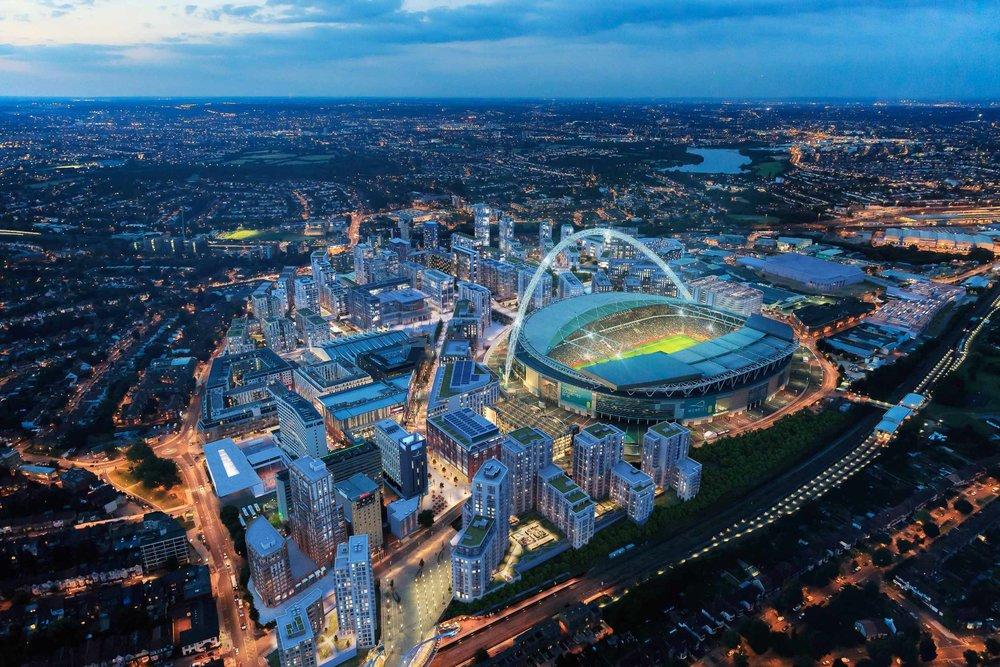 Wembley Park Masterplan, London