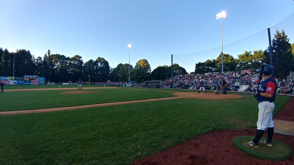 View from the Third Base Dugout den.