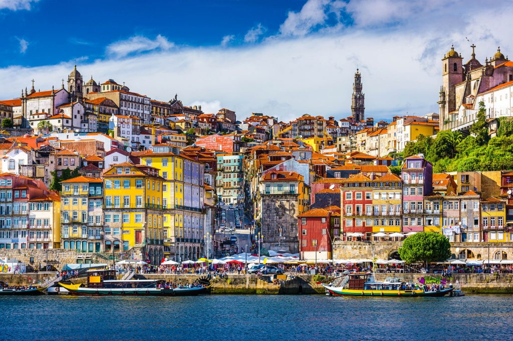Portugal is also a popular place right now - particularly Porto.