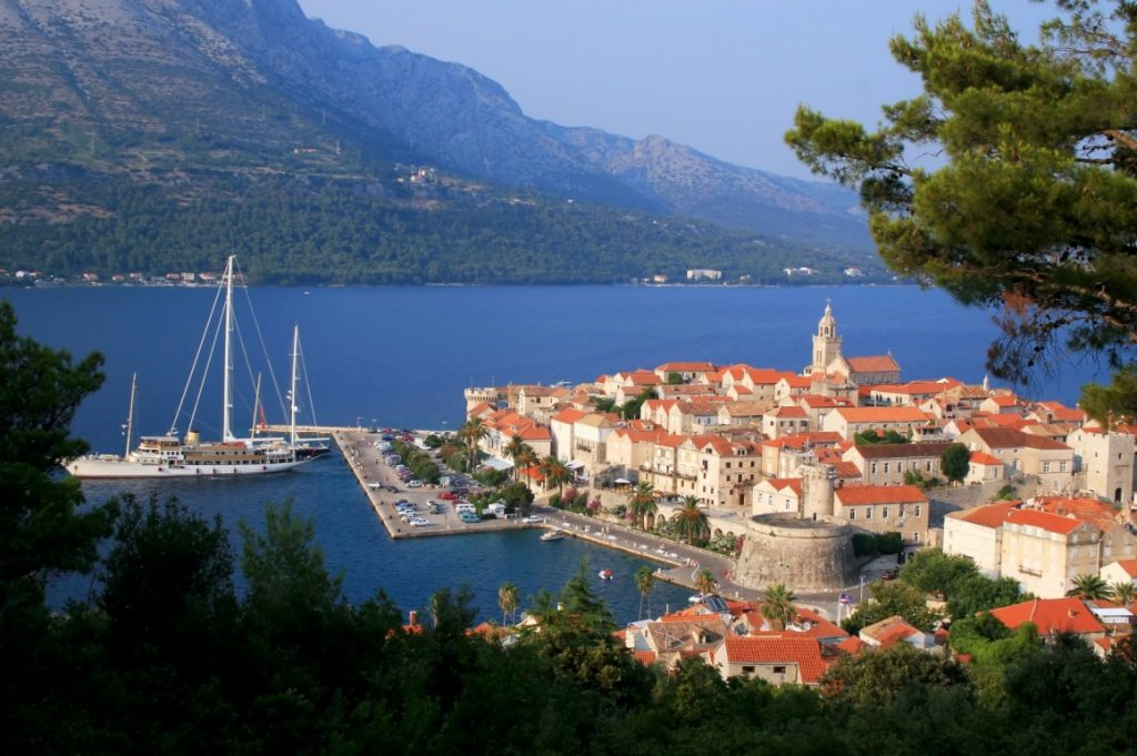 Croatia was HOT, HOT, HOT this summer!! I had FOUR different client groups there - the fan favorite was the island of Korcula.