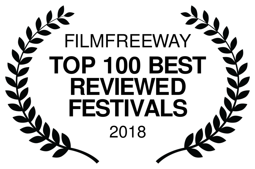 FILMFREEWAY - TOP 100 BEST REVIEWED FESTIVALS - 2018.png